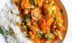 Plan nutritional vegetarian 2000 de calori pe zi Tikka Massala 1