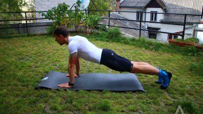 Plank pentru alergatori Trail Running Academy
