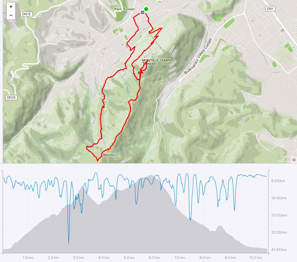 Trail Running Brasov