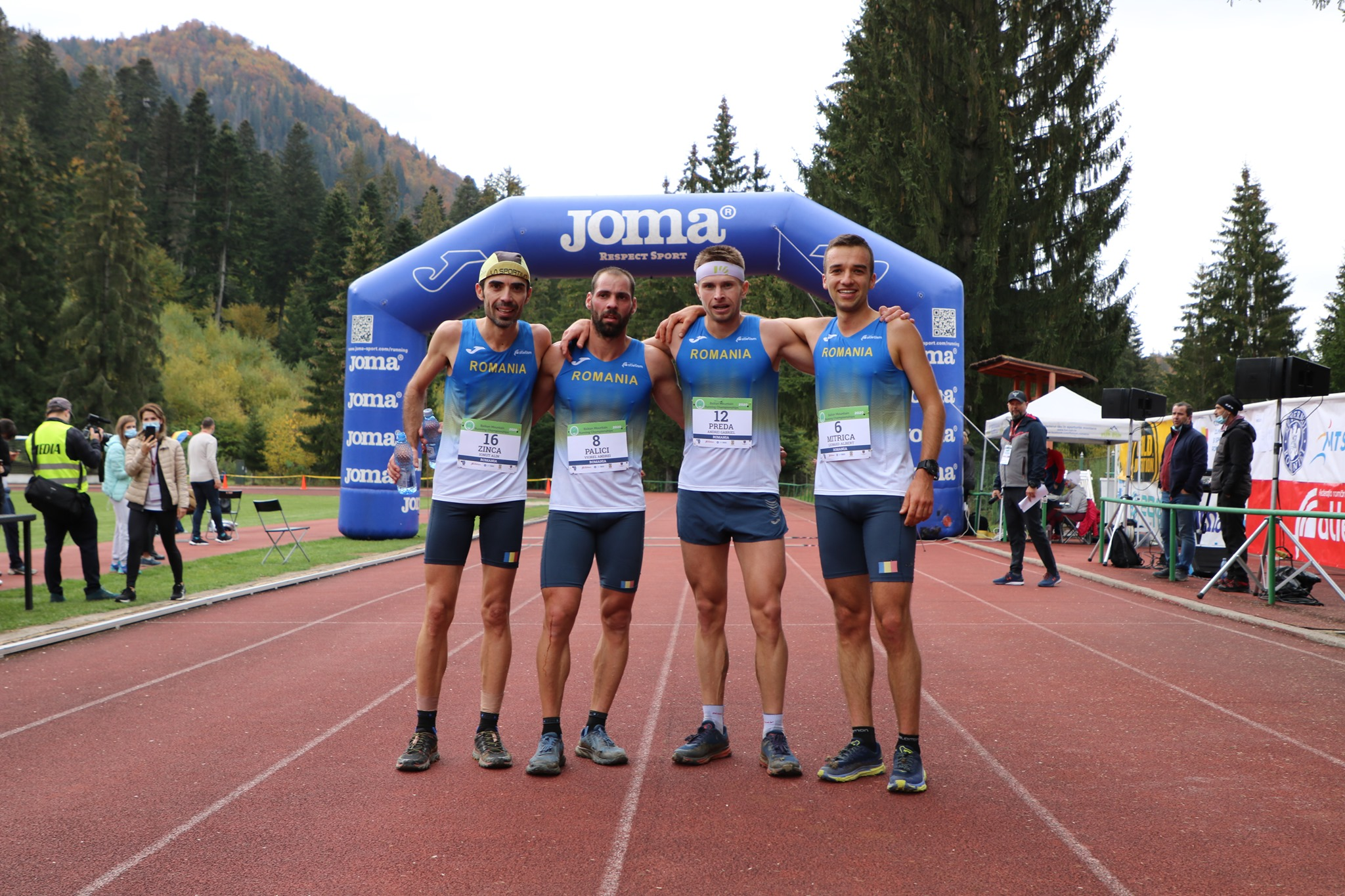 Campionatul Balcanic de alergare montană - Băieți Finish