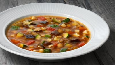Minestrone - Run Fast, Eat Slow