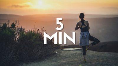Rutina de dimineata de 5 minute